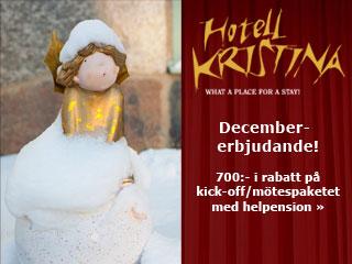 Se erbjudande från Hotell Kristina