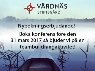 Se erbjudande från Vårdnäs Stiftsgård Hotell & Konferens
