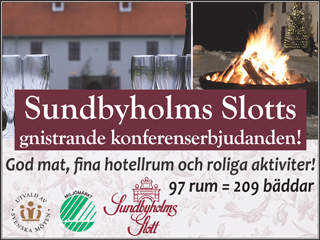 Se erbjudande från Sundbyholms Slott