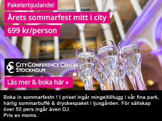Se erbjudande från City Conference Centre - Folkets Hus & Norra Latin