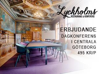 Se erbjudande från Lyckholms Restaurang & Konferens
