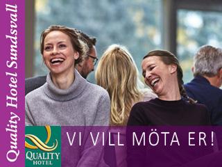 Se erbjudande från Quality Hotel Sundsvall