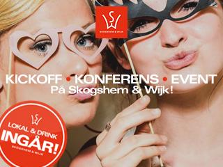 Se erbjudande från Skogshem & Wijk Meetings|Events