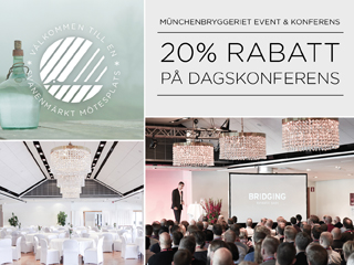 Se erbjudande från Münchenbryggeriet Event & Konferens