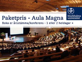 Se erbjudande från Aula Magna