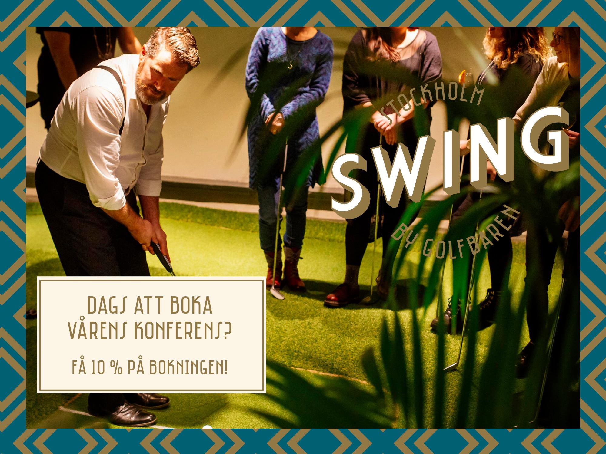 Se erbjudande från Swing by Golfbaren