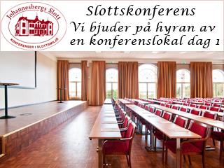 Se erbjudande från Johannesbergs Slott